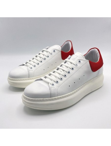 Sneakers Mct White and Red