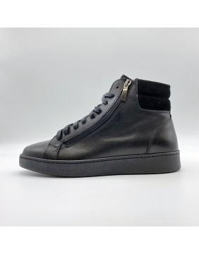 Sneakers belinea Pelle Camoscio Black
